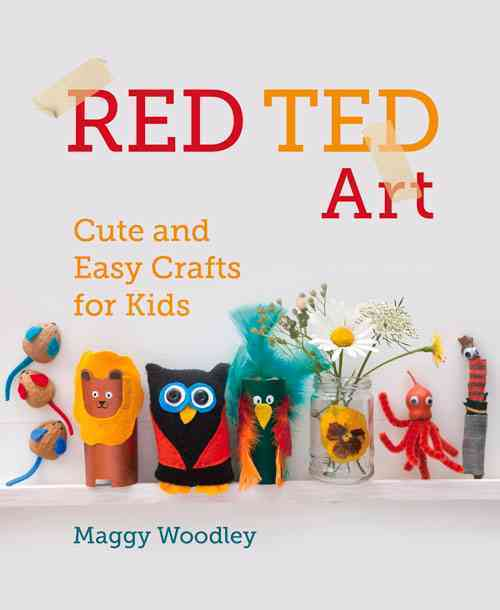 Red Ted Art By Woodley, Maggy